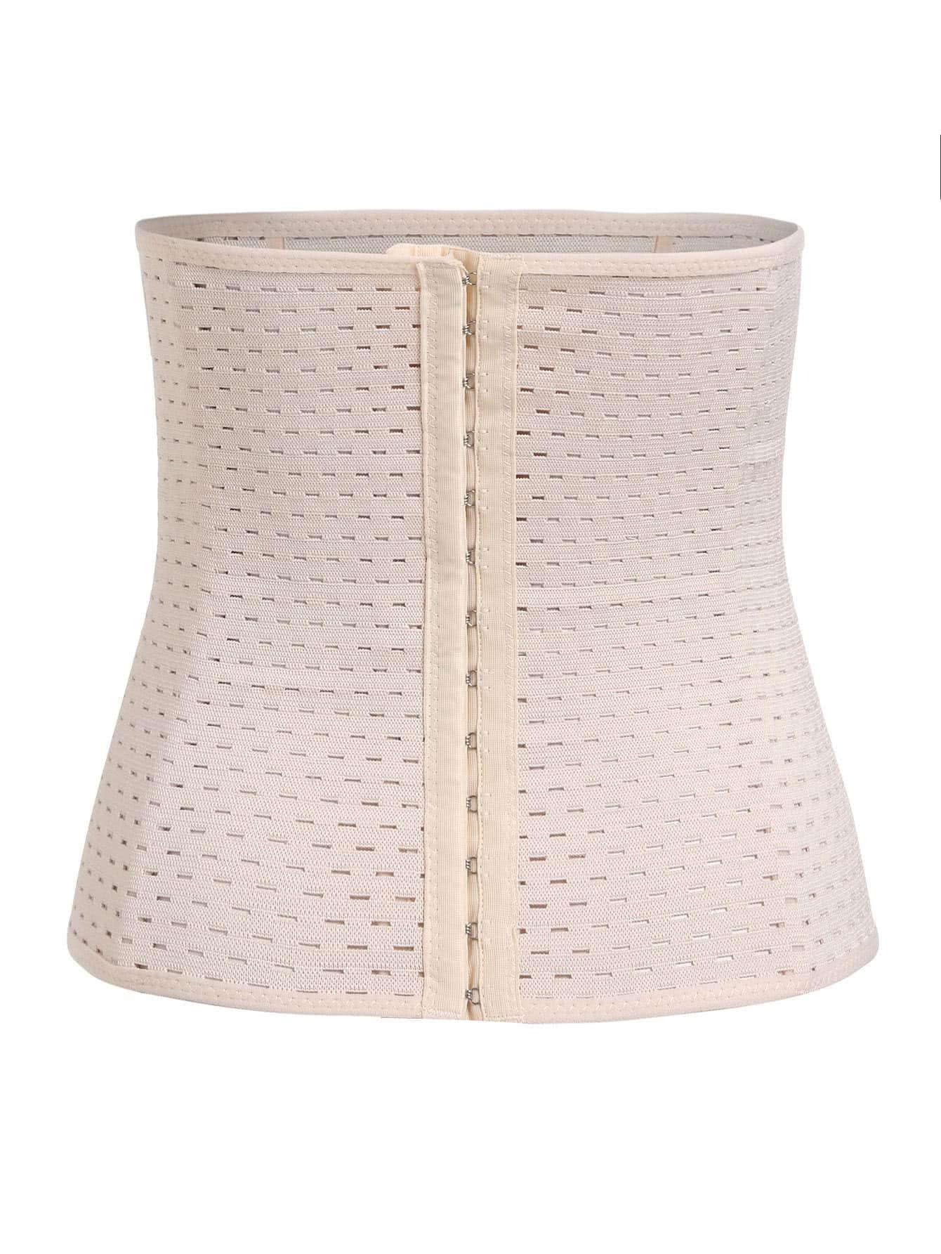Hook Closure Stretch Corset corset170907301
