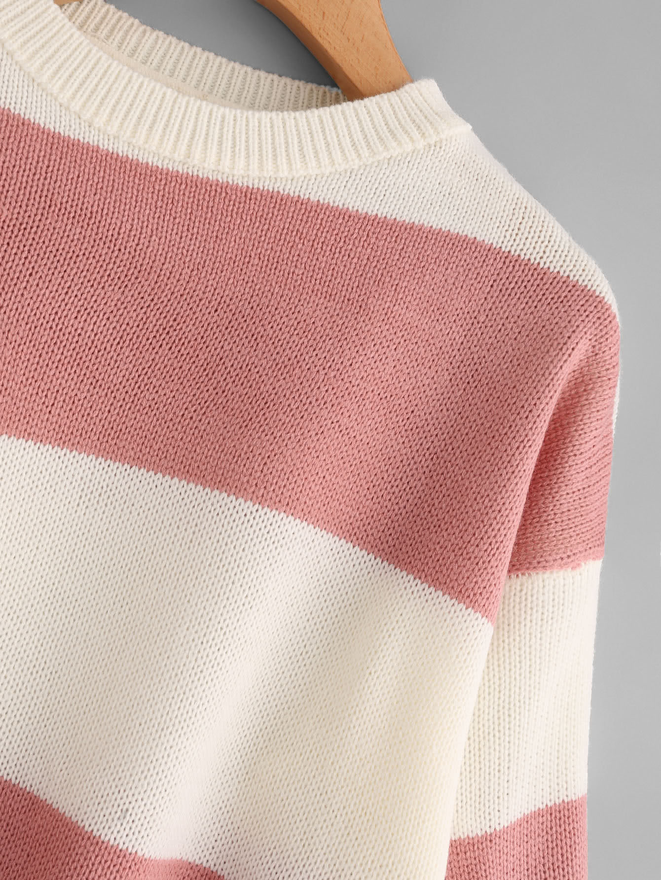 Wide Striped Sweater