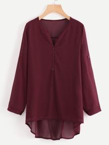 Модная асимметричная шифоновая куртка