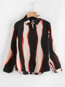 Wave Stripe Shirt