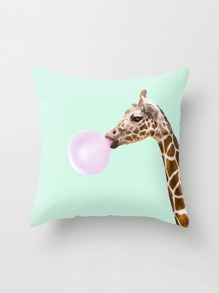 Giraffe Print Pillowcase Cover