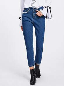 Модные джинсы с карманами