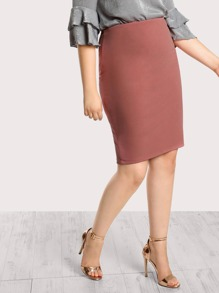 High Rise Bodycon Pencil Skirt PINK
