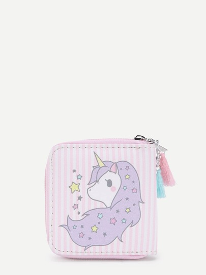 Cartoon Pattern Cute PU Wallet