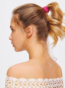 Attache-cheveux élastique