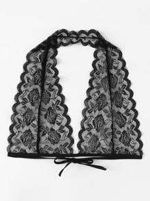 Halter Neck Self Tie Lace Bralette