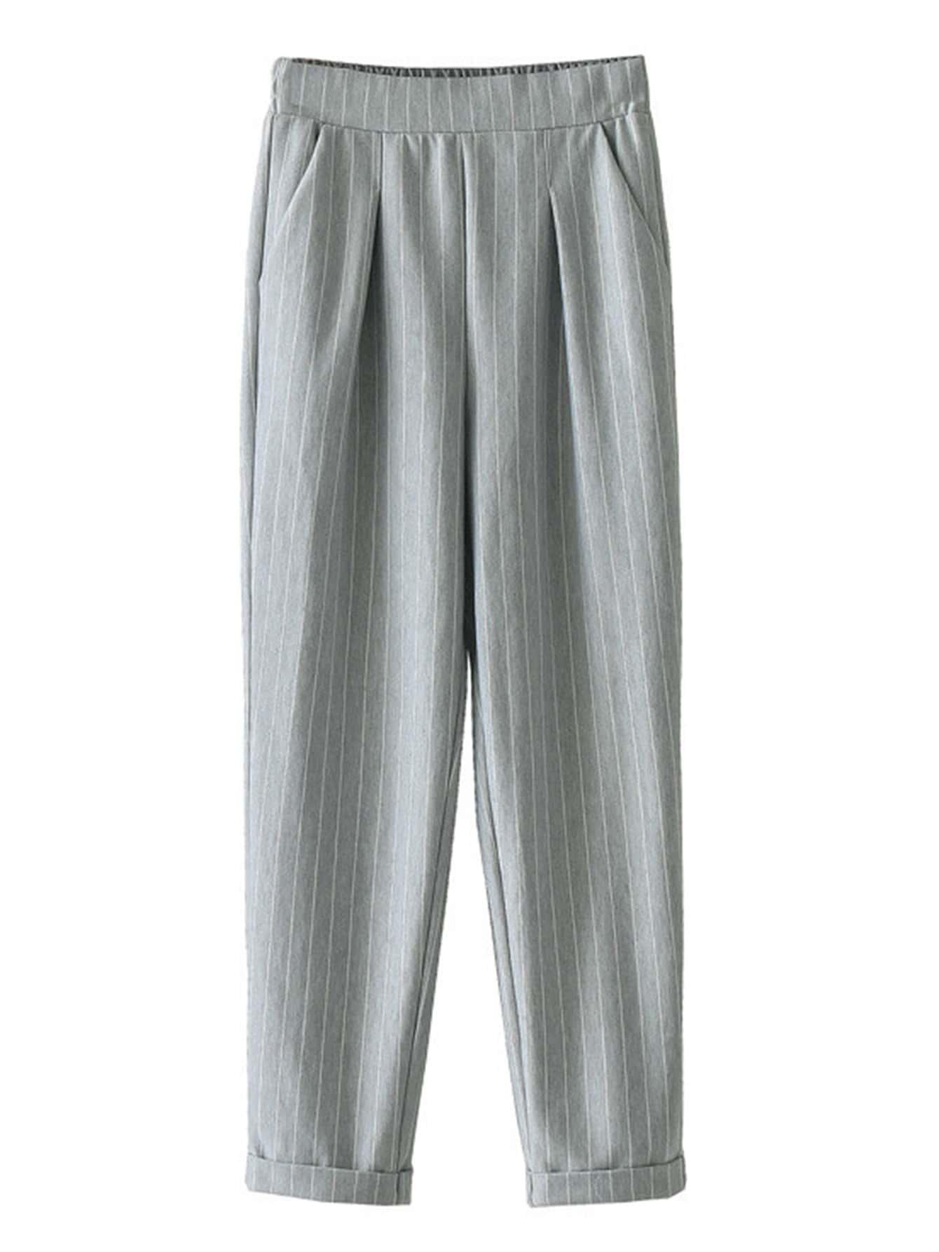 Pantalones de rayas verticales spanish romwe - Paredes a rayas verticales ...