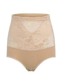 Flower Pattern Shapewear Shorts