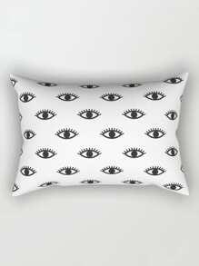 Eye Print Pillow Case Cover