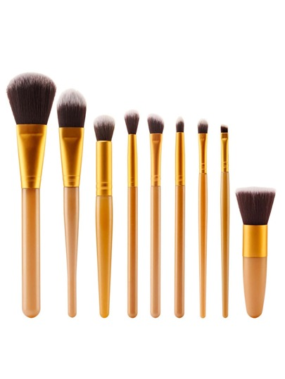 Ensemble de Pinceau de maquillage professionnel 9pcs