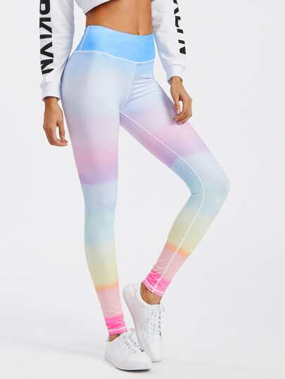 Leggings iridescent