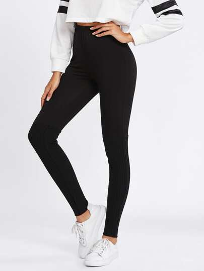 Leggings tricoté