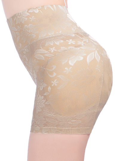 Flower Pattern Shapewear Shorts