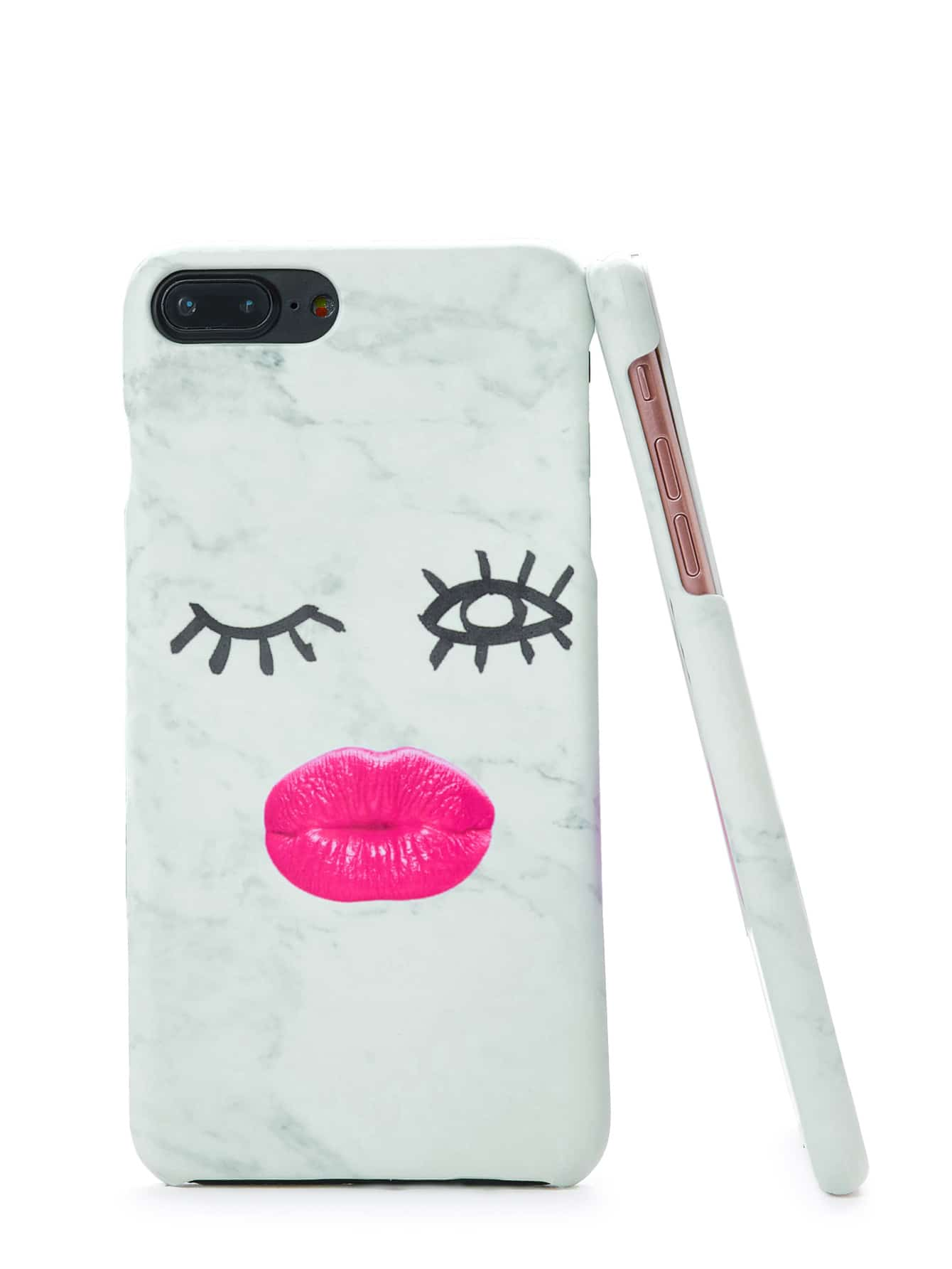 Купить Модный чехол для Iphone с принтом, null, SheIn
