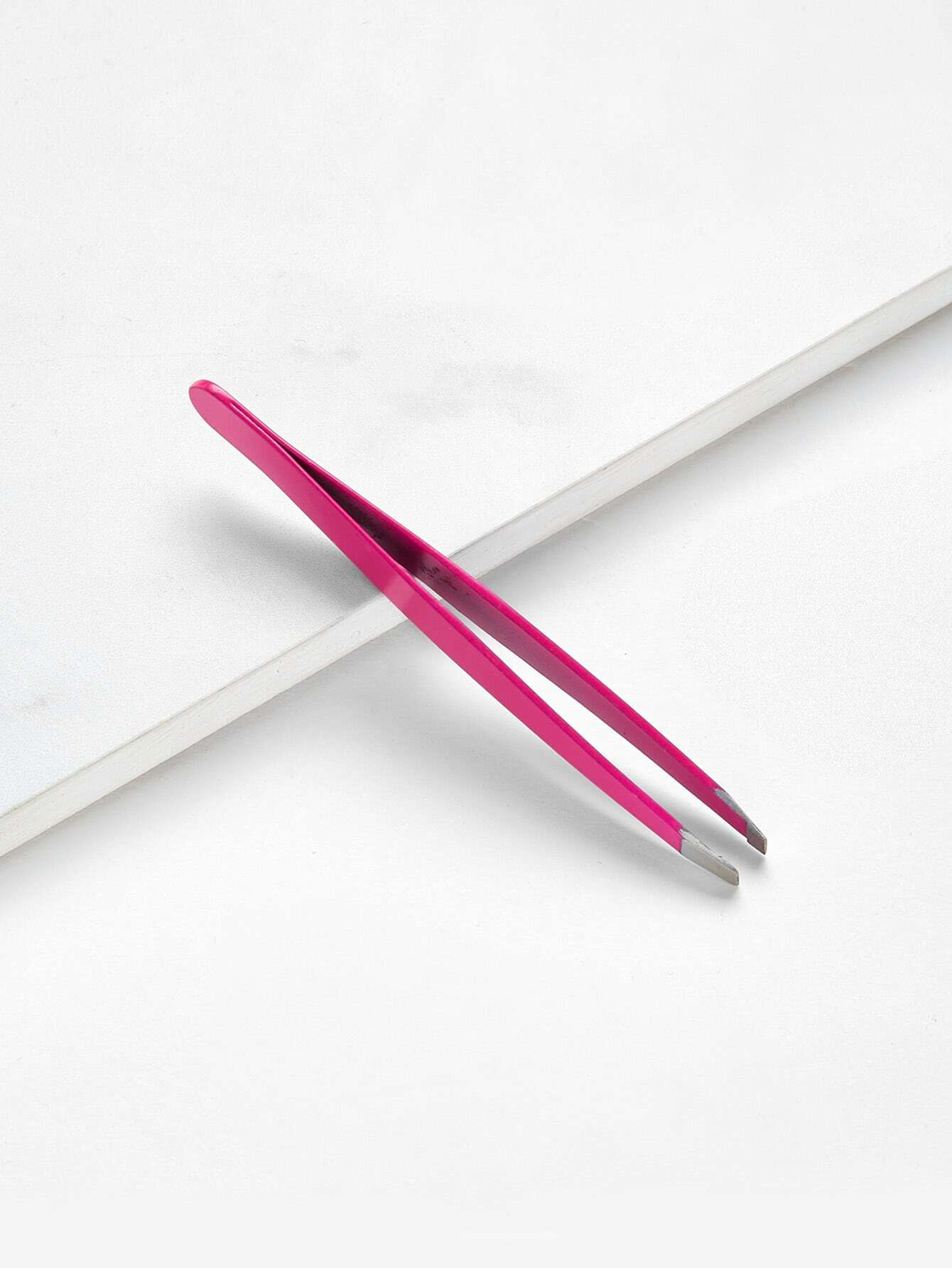 Stainless Steel Slanted Eyebrow Tweezer beauty171005304