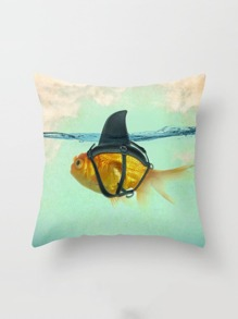 Goldfish Print Pillowcase Cover