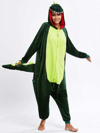 Drop Crotch Crocodile Onesie