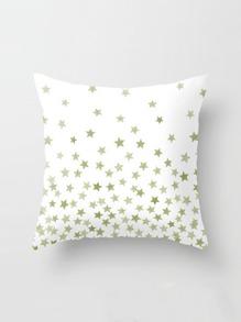 Star Print Pillowcase Cover