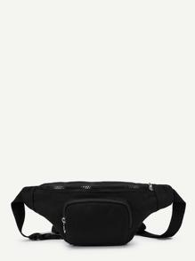 Zipper Pocket Bum Bag