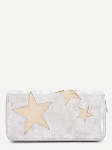 Star Pattern PU Wallet