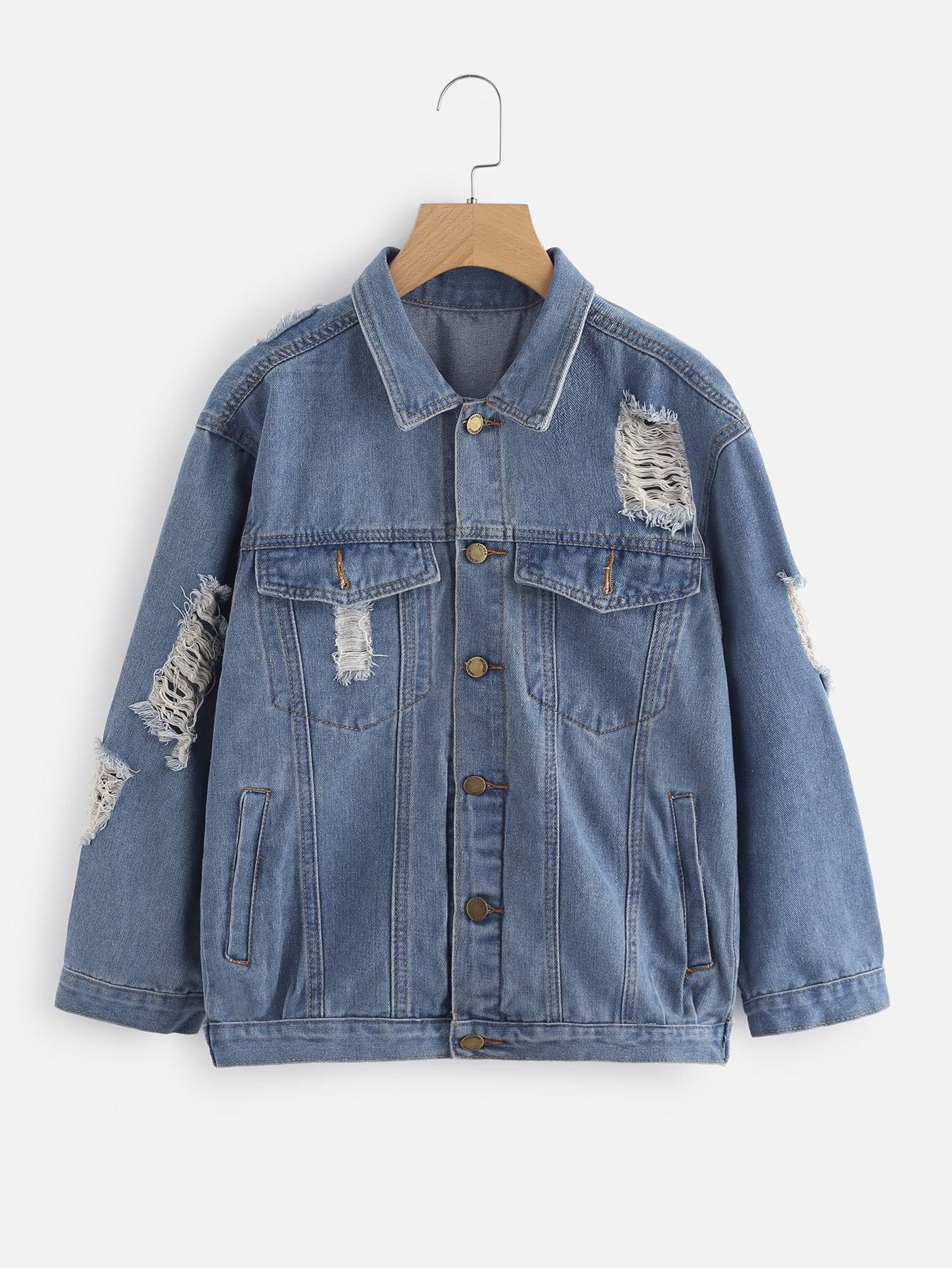 Bleach Мытья Джинсовые Куртки