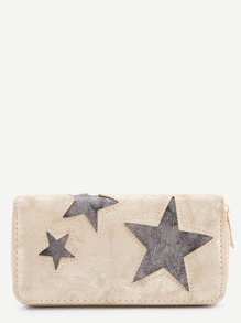 Star Pattern PU Wallet