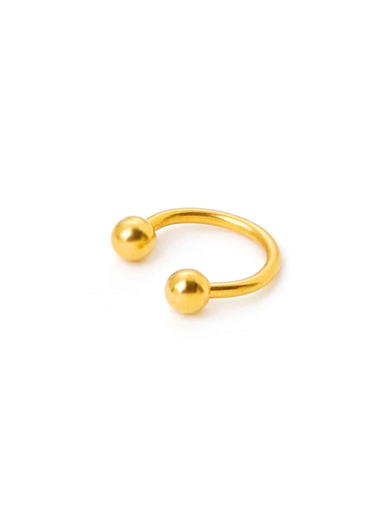Plated Smooth Nose Ring