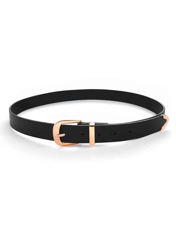 Metal Buckle Belt, null