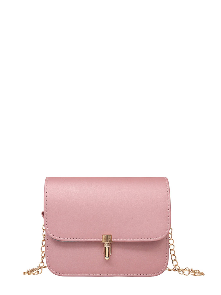 PU Flap Shoulder Bag With Chain glitter flap pu shoulder bag with chain
