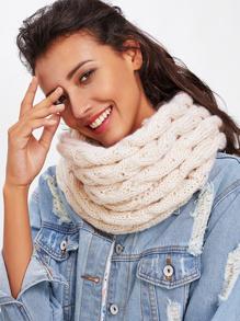 Crochet Delicate Infinity Scarf