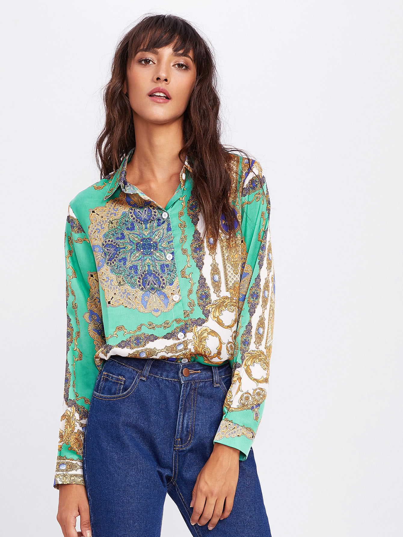 Allover Print Shirt