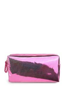 Glitter Zipper Makeup Bag