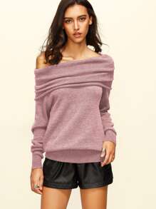 Raglan Sleeve Two Way Sweater