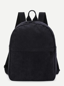 Rucksack mit Tasche vorn