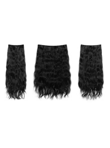 Raven Clip In Curly Hair Extension 3pcs
