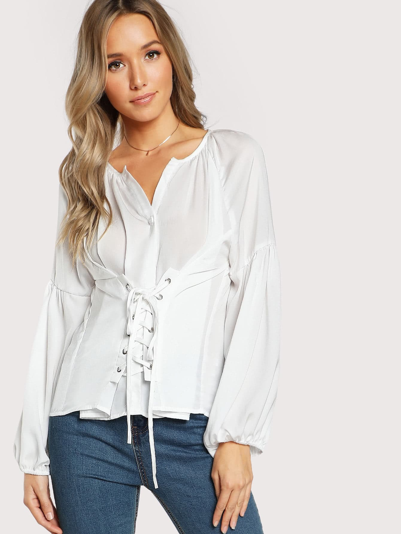 VINCE NWT Bright White Semi Sheer Casual Long Sleeve Button Down Shirt Size 4 See more like this Womens Cotton Linen Blouse Long Sleeve Tops Sheer Button Down Casual Shirt S-XL Brand New.