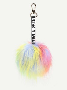 Charm Pom Pom Bag Accessories