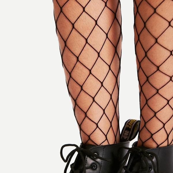 Over The Knee Fishnet Socks