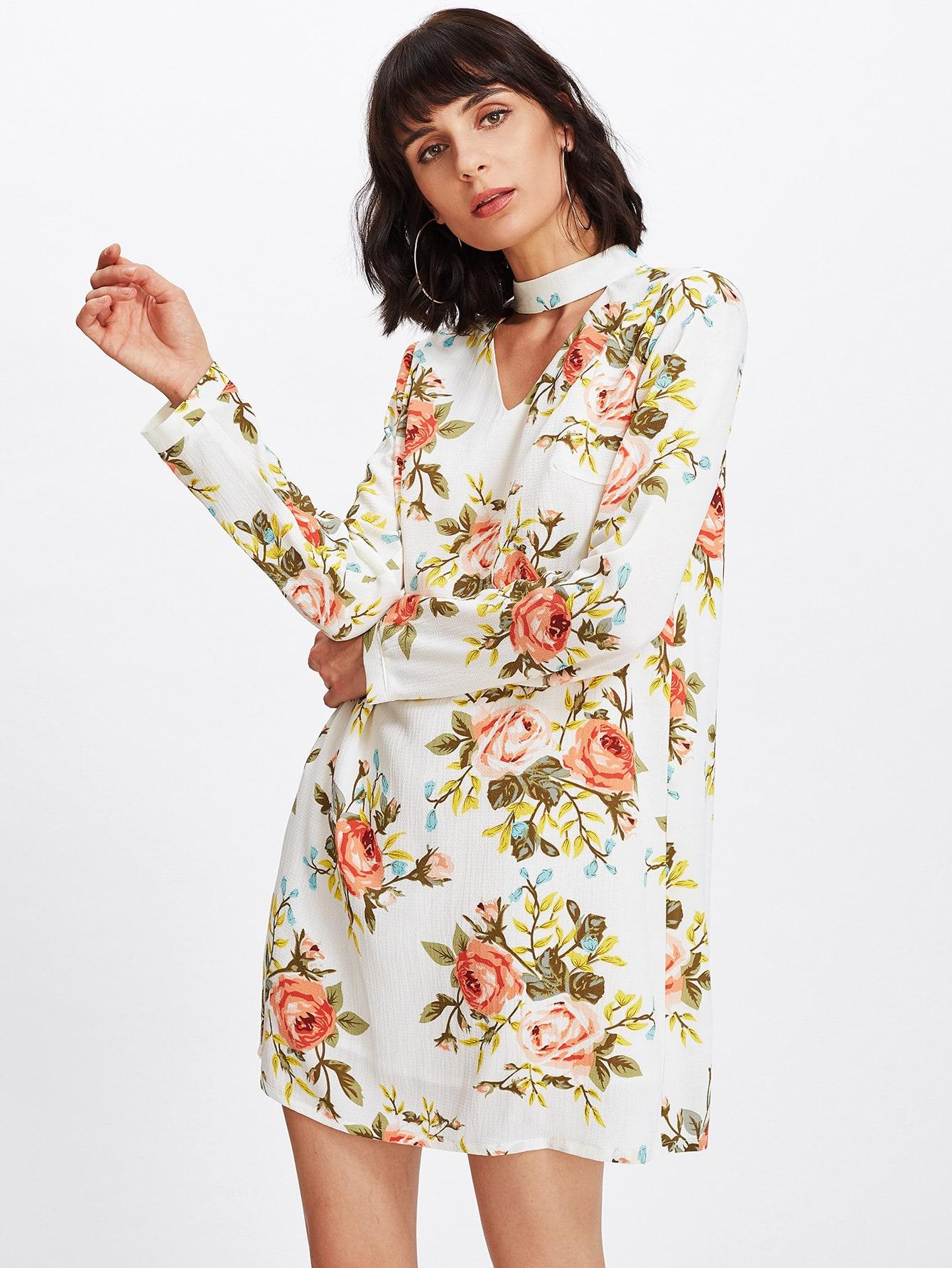 robe imprime fleur french romwe With robe imprimée fleurs
