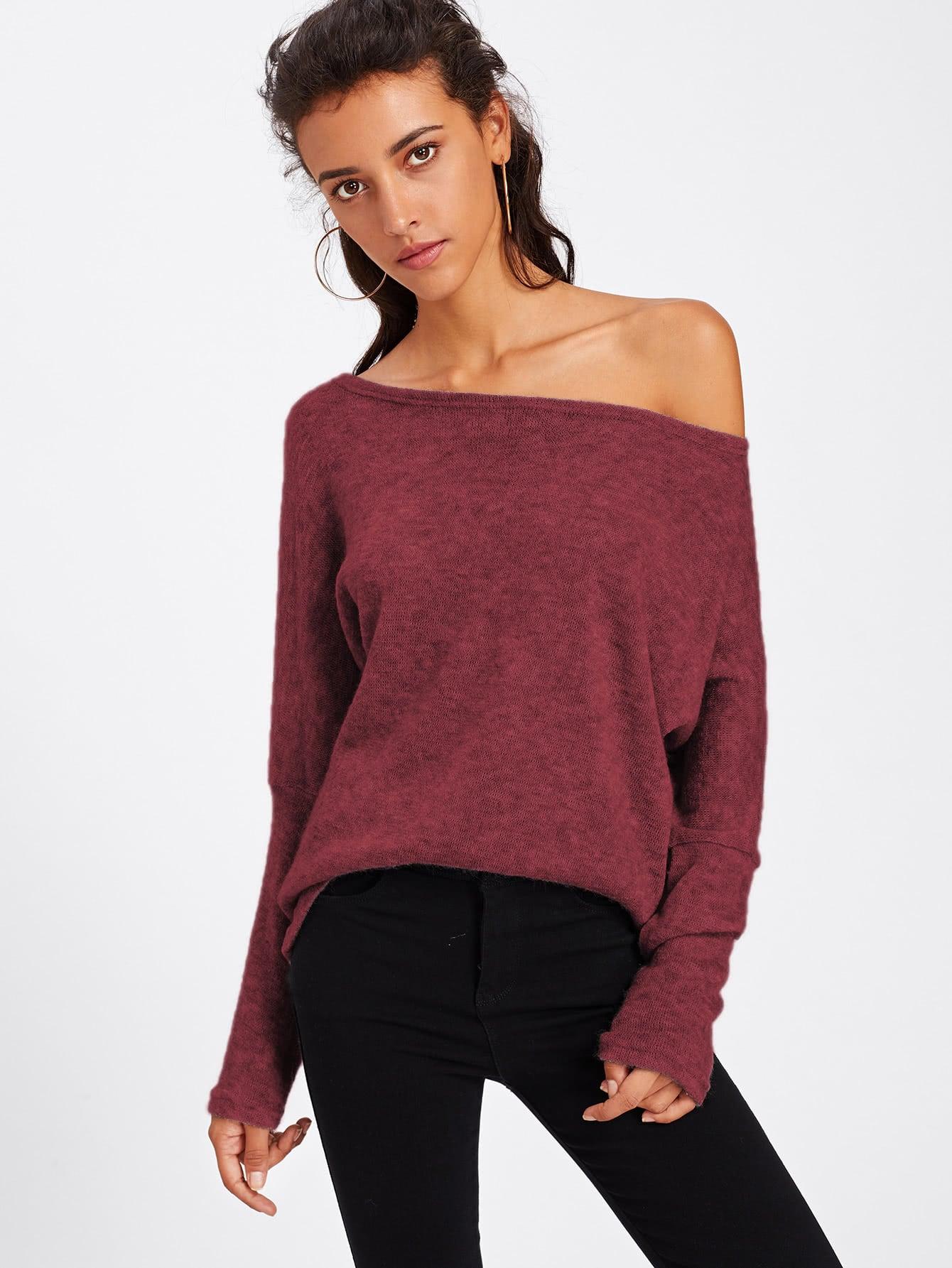 все цены на Batwing Sleeve Sweater