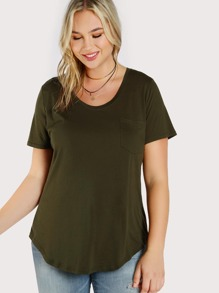 Front Pocket Top GREEN
