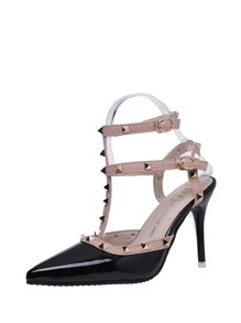 Rockstud Decorated Stiletto Heels