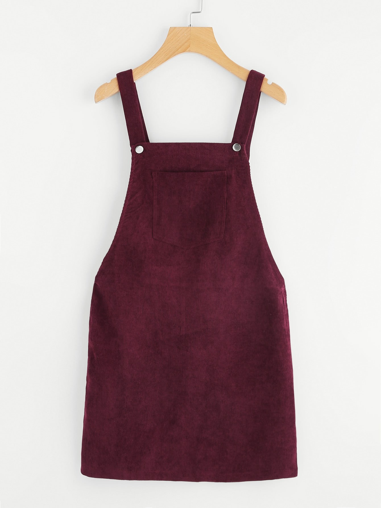Bib Pocket Front Overall Dress overall yumi overall