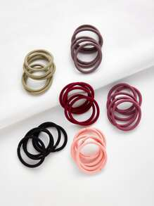 Plain Hair Tie 30pcs