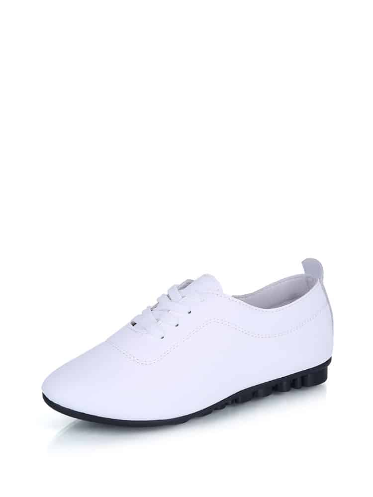 Lace Up PU Oxford Shoes