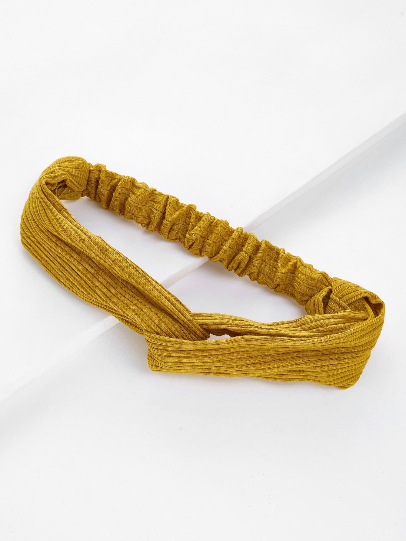 Ribbed Twist Headband все цены