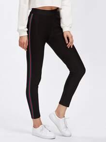 Stripe Side Gym Leggings