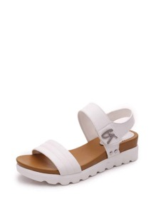 Studded Detail Flat Sandals