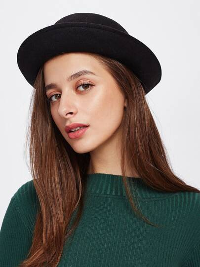 Bow Detail Bowler Hat