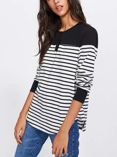 Two Two Striped Tee